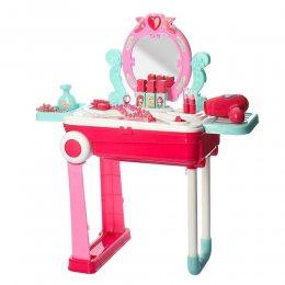 Игровой набор косметическое трюмо детское с зеркалом в чемодане (219)