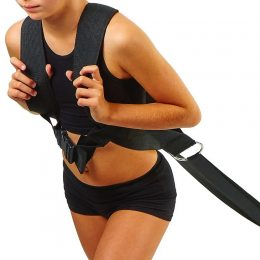 Жилет для саней для кроссфита Tunturi X-shape Pull Harness For Sled 509