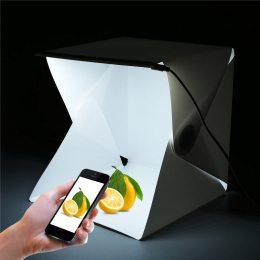 Фотобокс Лайтбокс Лайткуб с LED подсветкой для предметной съемки 30 см (519)