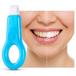Отбеливатель зубов. Средство для отбеливания зубов Dental Teeth Cleaning Kit. 5 отбеливающих полосок (519)