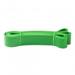 Резинка для подтягиваний, турника, фитнеса, эспандер резиновый спортивный (power bands). U-Powex. Фитнес петли. Жгут 45 мм зеленая. (237)