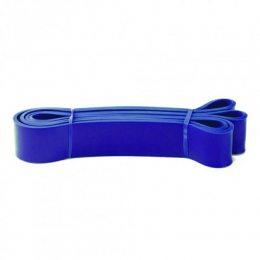 Резинка для подтягиваний, турника, фитнеса, эспандер резиновый спортивный (power bands). U-Powex. Фитнес петли. Жгут 64 мм синяя. (237)
