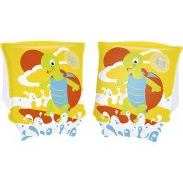 Детские Нарукавники для плавания Bestway 32043 Черепаха, 23 х 15 см (М+)