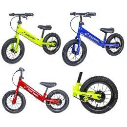 Велобег Scale Sports с дисковым тормозом, алюминиевый, колеса 14 дюймов, деткам от 2 лет