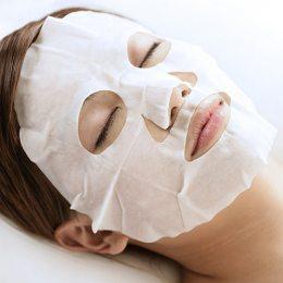 Маска-таблетка прессованная самораскрывающаяся для лица, тканевая, полотенце (2049)