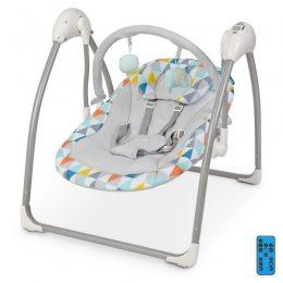 Кресло-качалка для детей качели El Camino ME 1047 AIRY Stars Triangle Multicol с большим набором функций (M+)