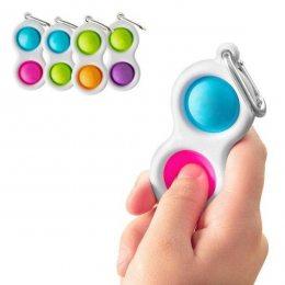 Сенсорная игрушка антистресс Pop it Simple Dimple пупырка симпл димпл поп ит