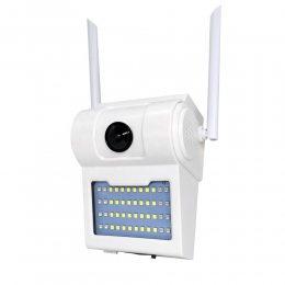 Навесная уличная WiFi камера с LED панелью IP66, 1080, wifi  SmartHD D2 icsee, 2MP (205)