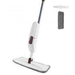 Швабра с распылителем healthy spray mop AURORA, гибкая, белая (205)