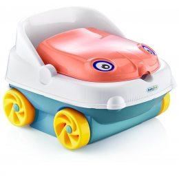 Горшок детский в виде машинки Pasa iraq baby car музыкальный красный(205)