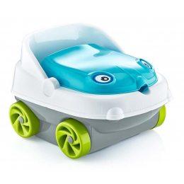 Горшок детский в виде машинки Pasa iraq baby car музыкальный синий(205)