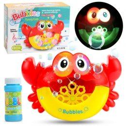Игрушка для ванной Музыкальный краб пускает пузыри Tempo Toys HC232579 (237)