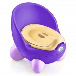 Детский горшок Babyhood (Бэбихуд) Кью Кью с крышкой фиолетовый(205)