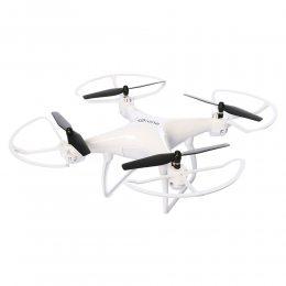 Дрон квадрокоптер Drone Sky LH-X25S на пульте управления, белый WiFi (VR очки в подарок) (237)