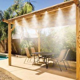 """Набор """"Система туманообразования для теплиц и летних веранд"""" из латуни  9 м"""