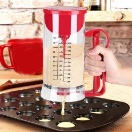 Универсальный ручной миксер для теста с дозатором AG Pancake Machine (518)