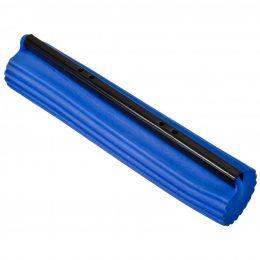 Запаска для швабры с отжимом твёрдая синяя