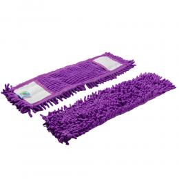 Запаска-насадка для швабры из микрофибры mirkoszenilowy фиолетовая