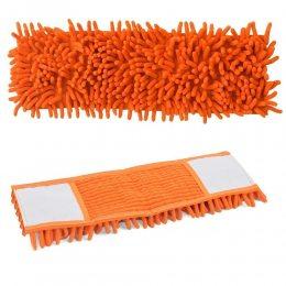 Насадка запаска для швабры из микрофибры Feniks szenilowy оранжевая