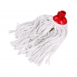 Насадка на швабру верёвочная из хлопковых шнурков Белая