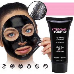 Маска для лица California Charcoal Face Mask от черных точек