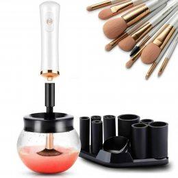 Электрический очиститель косметических щеток для макияжа и сушка для кистей BLAZE