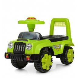 Каталка-толокар детская, машина для ребенка от 1 года Bambi Q11, зеленый