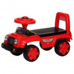 Каталка-толокар детская, машина для ребенка от 1 года Bambi Q11, красный