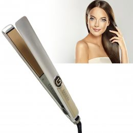 Плойка выпрямитель для волос Geemy GM-416 серый