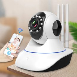 Видеоняня Wi-Fi с датчиком движения Baby Monitor VT03R   IP камера 720p HD