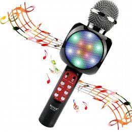 Микрофон-колонка bluetooth WS-1816 Black