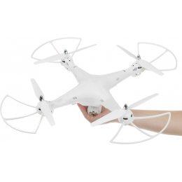 Квадрокоптер на радиоуправлении без камеры 6axis Gyro Белый