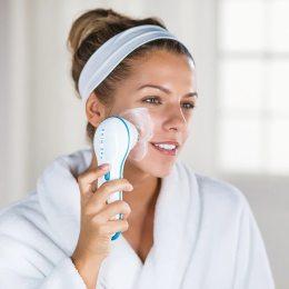 Массажная щетка для лица Spin Spa Cleansing Facial Brush (237)
