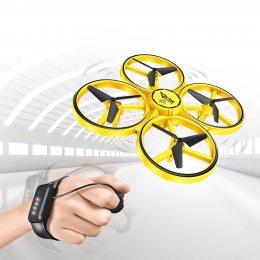 Квадрокоптер с управлением жестами Tracker (CX-49) Желтый