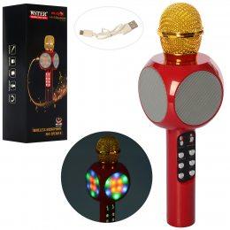 Микрофон-колонка bluetooth WS-1816 Red