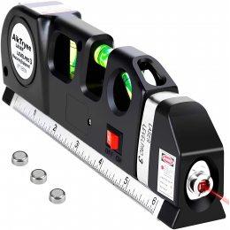 Лазерный уровень нивелир Fixit Laser Level Pro 3 + рулетка + уровень