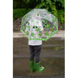 Детский зонт трость полуавтомат с персонажами мультфильмов