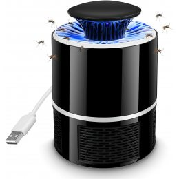 Лампа ловушка для комаров Mosquito Killer Lamp Черная
