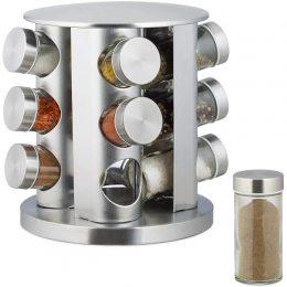 Подставка карусель для специй Spice Carousel, 12 емкостей Круглая