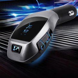 FM модулятор X5 Bluetooth для автомагнитолы